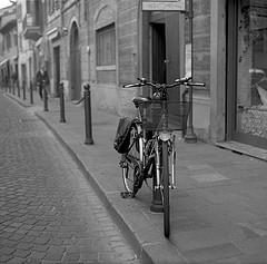 колесе велосипеда